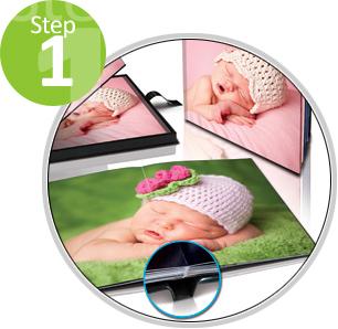 Crea il tuo Fotolibro in 4 passi!