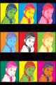 Effetto Pop Art - Warhol Black