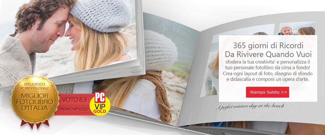 Scopri la qualità dei Fotolibri 12print.it