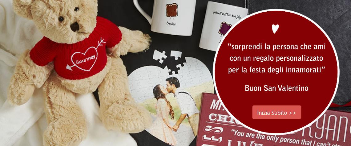 Crea un regalo personalizzato ed originale per san valentino