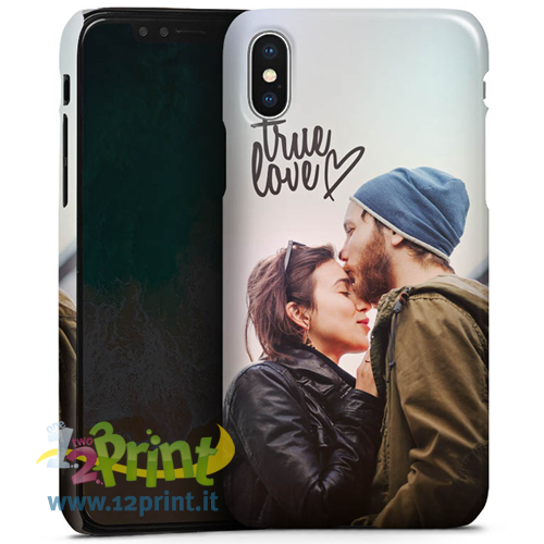 Cover iPhone X 3D Personalizzata