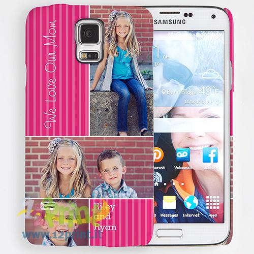 Cover Samsung Galaxy S5 3D Personalizzata