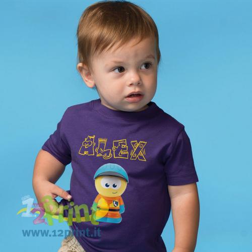 Maglietta Personalizzata Neonato