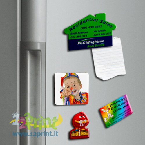 Magneti Personalizzati PVC Quadrati