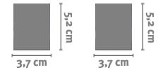 Adesivi Rettangolari Personalizzati