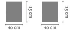 Ceramica Rettangolare 10x15