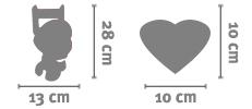 Cornice Love 10x10