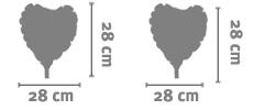 Palloncino Cuore 28 Cm