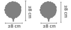 Palloncino Tondo 28 Cm