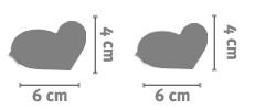 Portachiavi Heart
