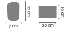 Portaspazzolini Personalizzato