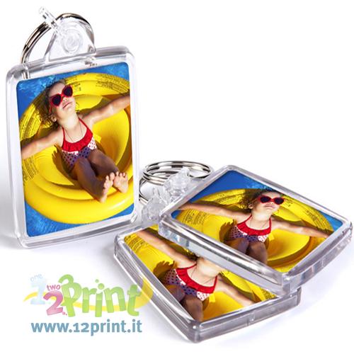 Portachiavi Plastica Personalizzato