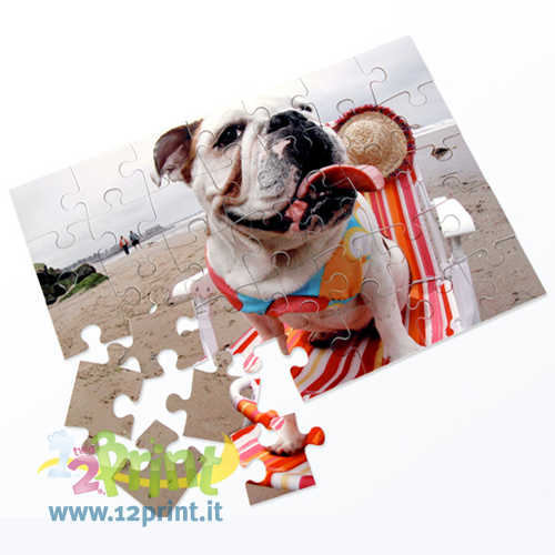 Puzzle Cartolina Personalizzato