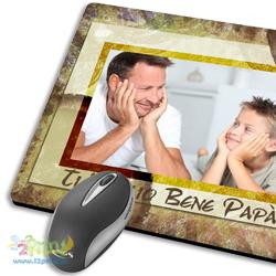 Tappetino Mouse Papa Con Foto
