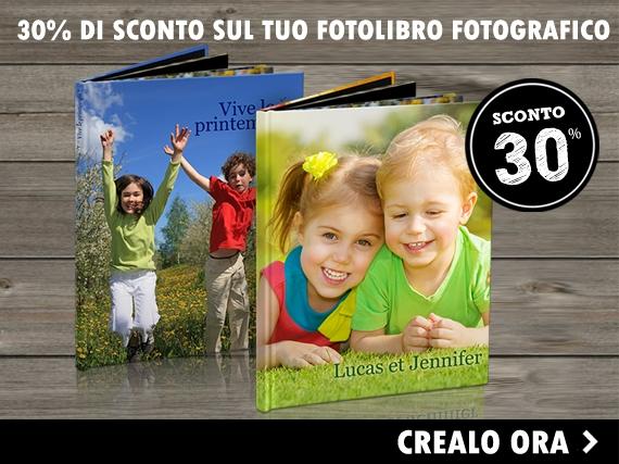 Sconto del 30% Fotolibri Fotografic: leggi le offerte