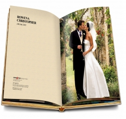 stampa online album matrimonio