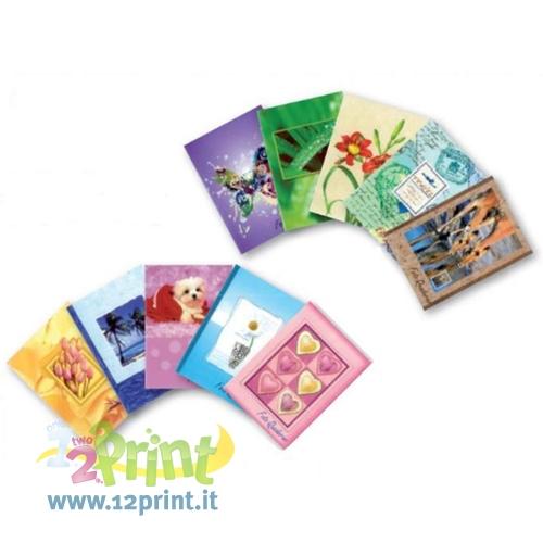 Portafoto 10x15 con taschine in plastica trasparenti - Portafoto 13x18 ...